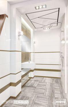 Łazienka zaprojektowana przez biuro projektowe Mera Design