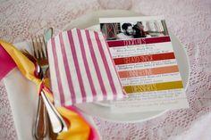 Our Wedding: The Menu - A Beautiful Mess Wedding Menu Cards, Wedding Paper, Diy Wedding, Wedding Ideas, Wedding Decor, Wedding Images, Wedding Designs, Event Planning, Wedding Planning