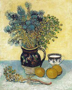 Vincent van Gogh (Dutch, 1853-1890), Still Life, 1888. Barnes Foundation Philadelphia, PA.