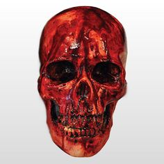 Bloody Resin Skull -Halloween Horror Prop FX -TB-370-38