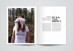 White Blackout Magazine - Kasper Pyndt Studio