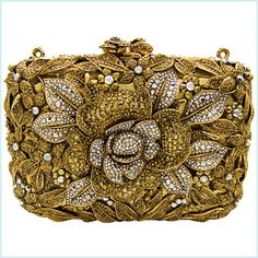 Butler and Wilson Floral Clutch