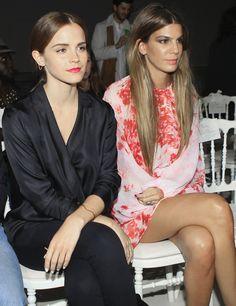 Emma Watson y Bianca Brandolini