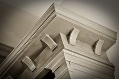 Design is in the details. Beautiful woodwork. Meridian Construction