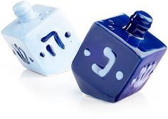 Rite Lite Draydel Salt & Pepper Set | beautiful gift for Chanukah for many years of pleasure