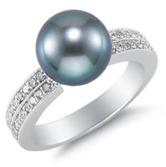 Tahitian Black Pearls a symbol of romantic legend.