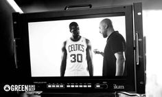 ikan's VX17e was being used on a commercial shoot for the Boston Celtics! For more infor on the monitor follow this link: http://ikancorp.com/productdetail.php?id=769 . To see the finished TV spot click here: http://www.youtube.com/watch?v=gIYharlV5Cw