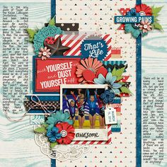 Growing Pains Bundle by Kristin Cronin-Barrow Template Set 163 by Cindy Schneider AVAILABLE at Sweet Shoppe Designs
