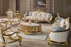 Luxury Home Furniture, Luxury Sofa, Interior S, Victorian Fashion, Accent Chairs, Armchair, Abd, Home Decor, Dubai