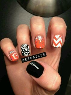 I absolutely adore these nails! I will definitely try these in the future.