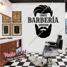 Interior Wall Colors, Interior Walls, Barber King, Mens Hair Salon, Barbershop Design, Plant Wall, Graphic Design Branding, Hair And Beard Styles, Barber Shop