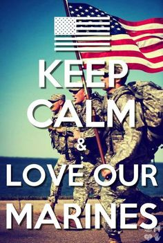 I love my Marine!