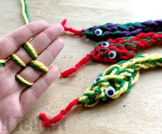 With summer around the corner, the kids can make Friendship Bracelets - a great gift to friends before, during summer or for back to school!