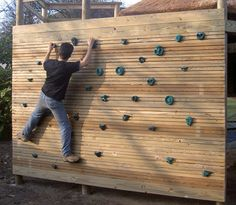 "Bouldering Walls for treehouses by Treehouse Life ""...a world away from everyday"""