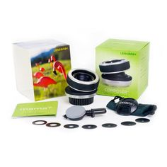 My Lens baby composer kit// cool for scenes of confusion, or memories.