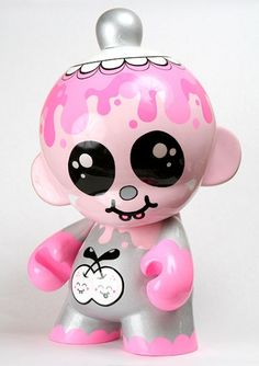 Buff Monster Cute and funny toy design Cute designer toys and collectibles. Kawaii!