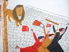 The Happy Lion by Louise Fatio illustrated by Roger Duvoisin