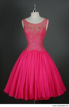 Pink dress - 50s dress