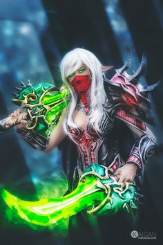 Astonishing Blood Elf Rogue Cosplay from World of Warcraft by Vitality Cosplay and Collector - Costume by Krizdel Ingreso - Photo by The Kaigan