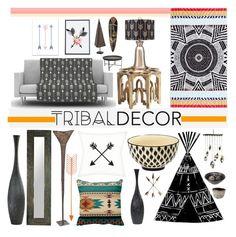 tribal decor by piedraandjesus liked on polyvore featuring interior interiors interior