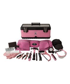 Look at this Pink Diamond Tool Box on #zulily today!