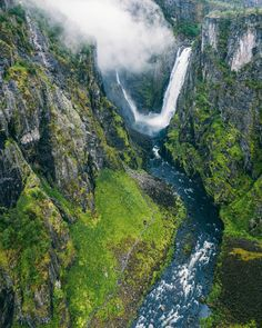 Planning to see Vøringsfossen? Here's our travel guide with everything you need to know about visiting Norway's most famous waterfall in the Hardangerfjord region + viewpoints, what to bring, when to visit and how to get to Vøringsfossen. #norway #scandinavia #waterfall #europe Norway Travel Guide, Famous Waterfalls, Visit Norway, Best Hikes, Us Travel, Travel Guides, Need To Know, Northern Lights, Things To Do