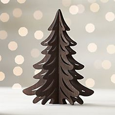 View larger image of Laser-Cut Wood Dark Tree