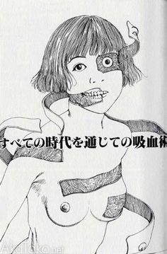 """from """"Murder Art Through the Ages"""" by Shintaro Kago"""