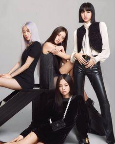 Kim Jennie, Jenny Kim, Blackpink Lisa Instagram, Instagram Roses, South Korean Girls, Korean Girl Groups, Cover Shoot, Tumbrl Girls, Blackpink Members