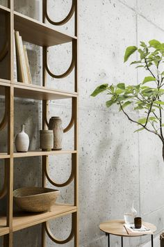 Details of our Arch shelf for Fogia Collection.