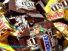 Leftover Halloween Candy ideas #Halloween