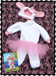 Oooommmggg, i think ijust found elys costume! ! Lambie from Doc McStuffins Halloween costume