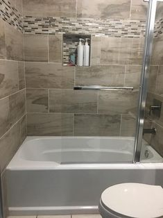 Bathroom decor for the master bathroom remodel. Discover master bathroom organization, bathroom decor ideas, master bathroom tile suggestions, master bathroom paint colors, and more. Bathroom Tub Shower, Bathroom Ideas, Bathroom Organization, Bathroom Storage, Bathroom Mirrors, Bathroom Cabinets, Bath Ideas, Guys Bathroom, Bathroom Canvas