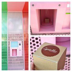Cupcake ATM! Beverly Hills  Shut. The. Front. Door!