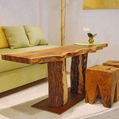 Büromöbel design holz  Holz Möbel, Tisch massiv Holz Unikat, Möbel Messmer, Monheim ...