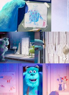 The ending of Monsters Inc. that made everyone want a sequel. Instead we get a prequel.
