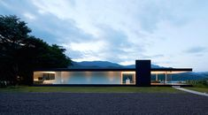 Lakeside House in Yamanashi, Japan