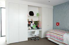 Office Hidden In Bedroom