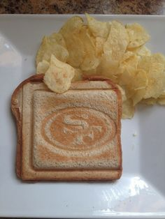San Francisco #49ers Sandwiches