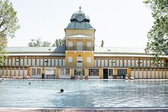 Thermalbad Vöslau, Austria. Escapism, relaxing. Vienna, Austria, Collaboration, Spa, Relax, Mansions, Nice, House Styles, Manor Houses