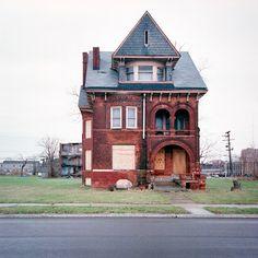 100 maisons abandonnées de Détroit - La boite verte