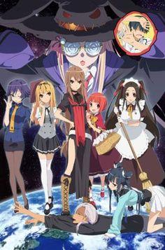 Okami-san to Shichinin no Nakama-tachi Capitulos, Okami-san to Shichinin no Nakama-tachi Online, Ver Okami-san to Shichinin no Nakama-tachi, Okami-san to Shichinin no Nakama-tachi Anime I Love Anime, All Anime, Me Me Me Anime, Anime Manga, Anime Stuff, Anime Girls, Anime Comics, Romance, Baka To Test