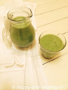 Happy-and-healthy Super Smoothie I Happy-and-healthy.nl #raw #smoothie #greensmoothie #rawfood #happy #healthy