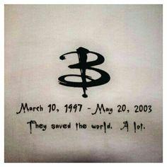 #BTVS #Buffy20Slays