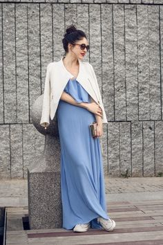 398afed317 Maxi dress with converse