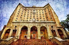 Sleeping Beauty - the Baker Hotel in Mineral Wells, Texas