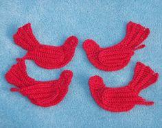 1pc 2.25 häkeln kleine Ente Applique von PinkMeStudio auf Etsy