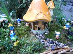 Smurf/Fairy Garden