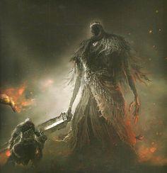 VaatiVidya - Words can light fires • knighttarkus: Giant Lord, Dark Souls II Design...