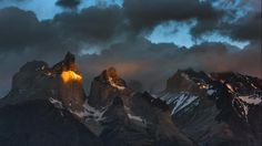 I want to keep this of the 'horns' of Torres Del Paine in Patagonia.... This captures how I often feel emotionally and spiritually.... Beautiful! 500px: Evgeny Tchebotarev's Amazing Photos of Patagonia - weather.com